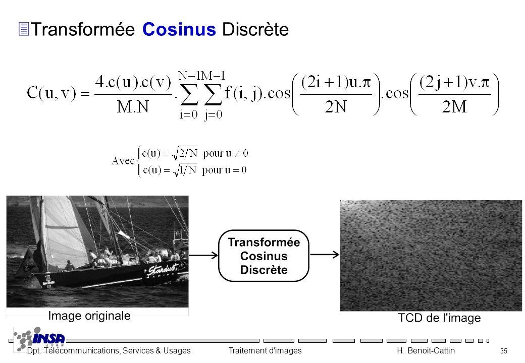 Transformée Cosinus Discrète