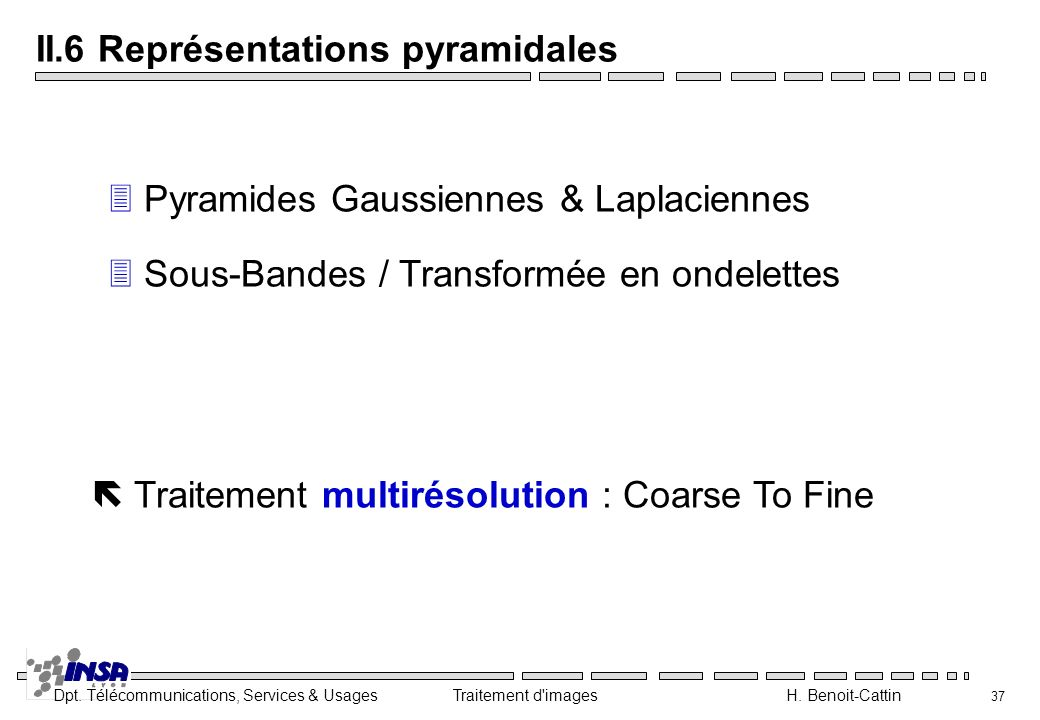 II.6 Représentations pyramidales