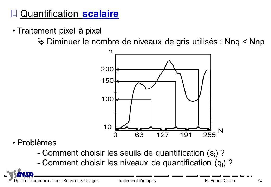 Quantification scalaire