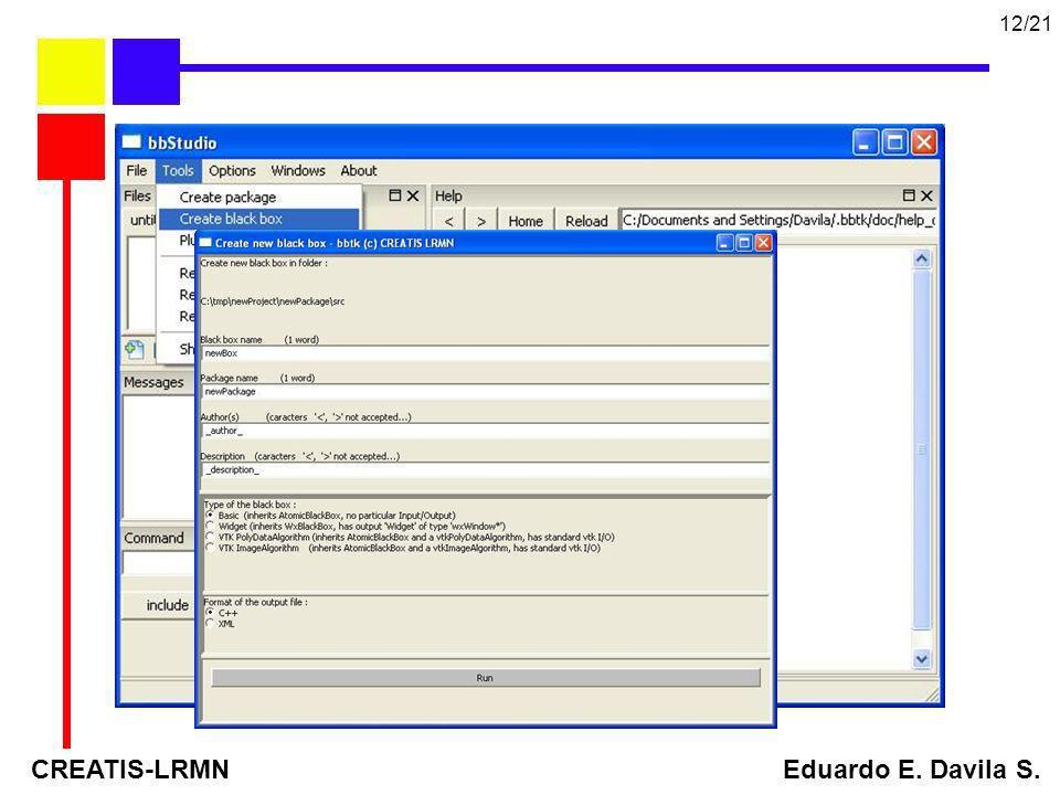 CREATIS-LRMN Eduardo E. Davila S.