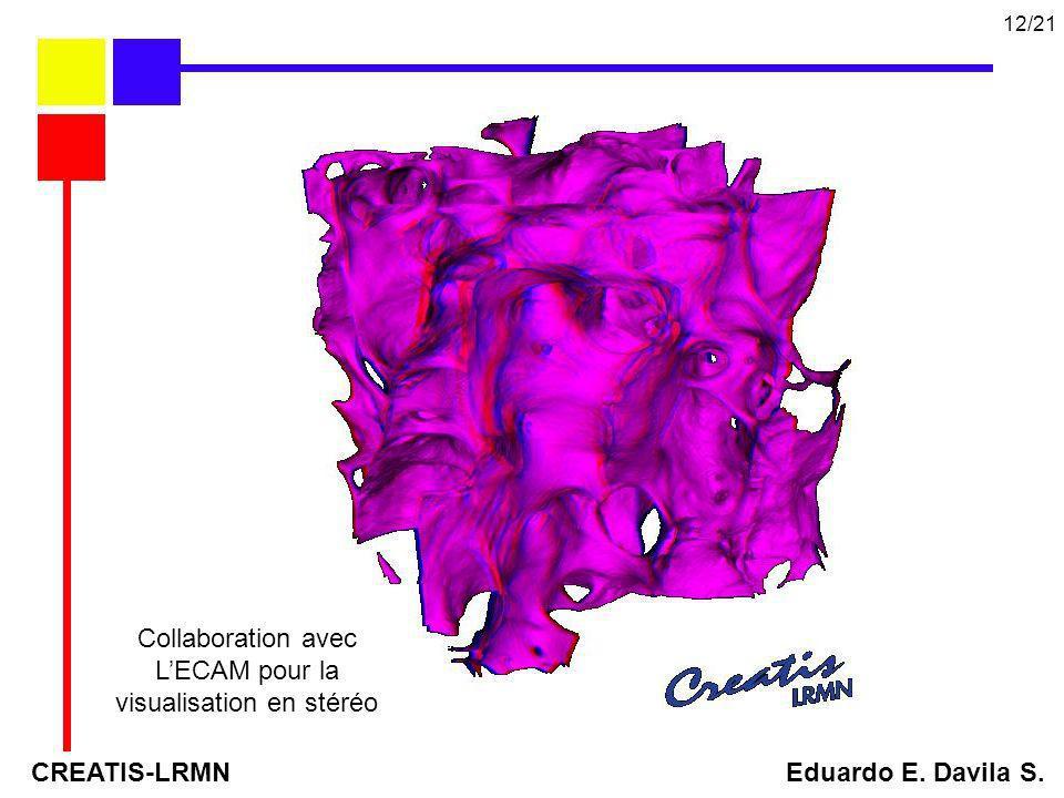 L'ECAM pour la visualisation en stéréo