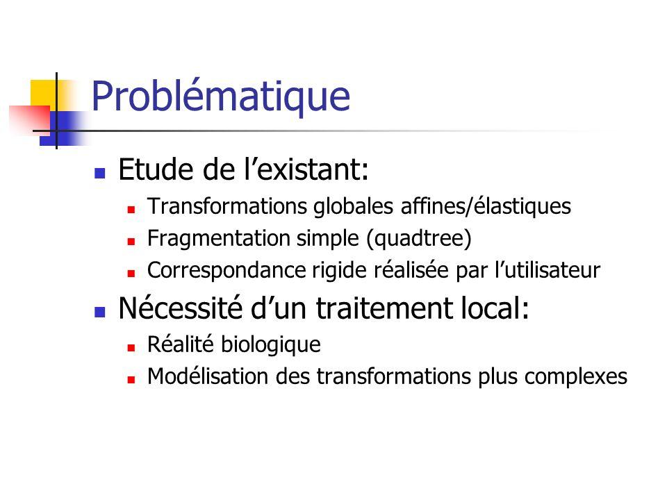 Problématique Etude de l'existant: Nécessité d'un traitement local: