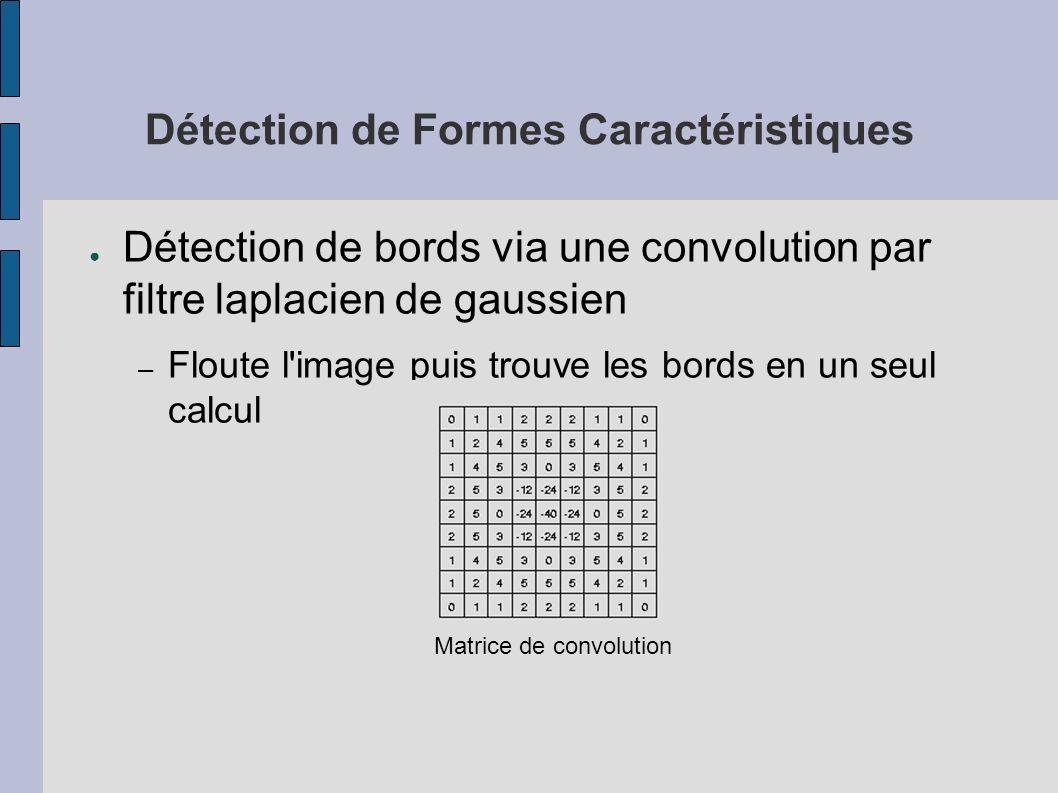 Détection de Formes Caractéristiques