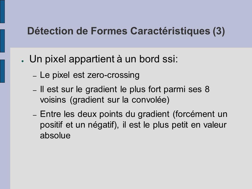 Détection de Formes Caractéristiques (3)