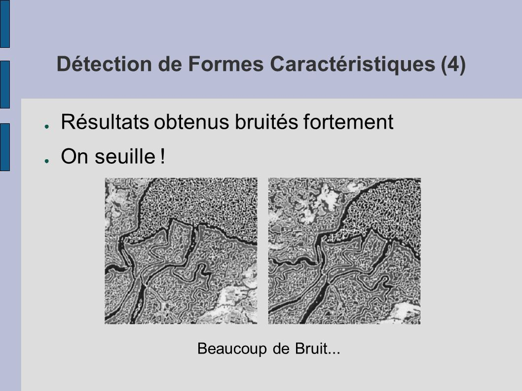 Détection de Formes Caractéristiques (4)