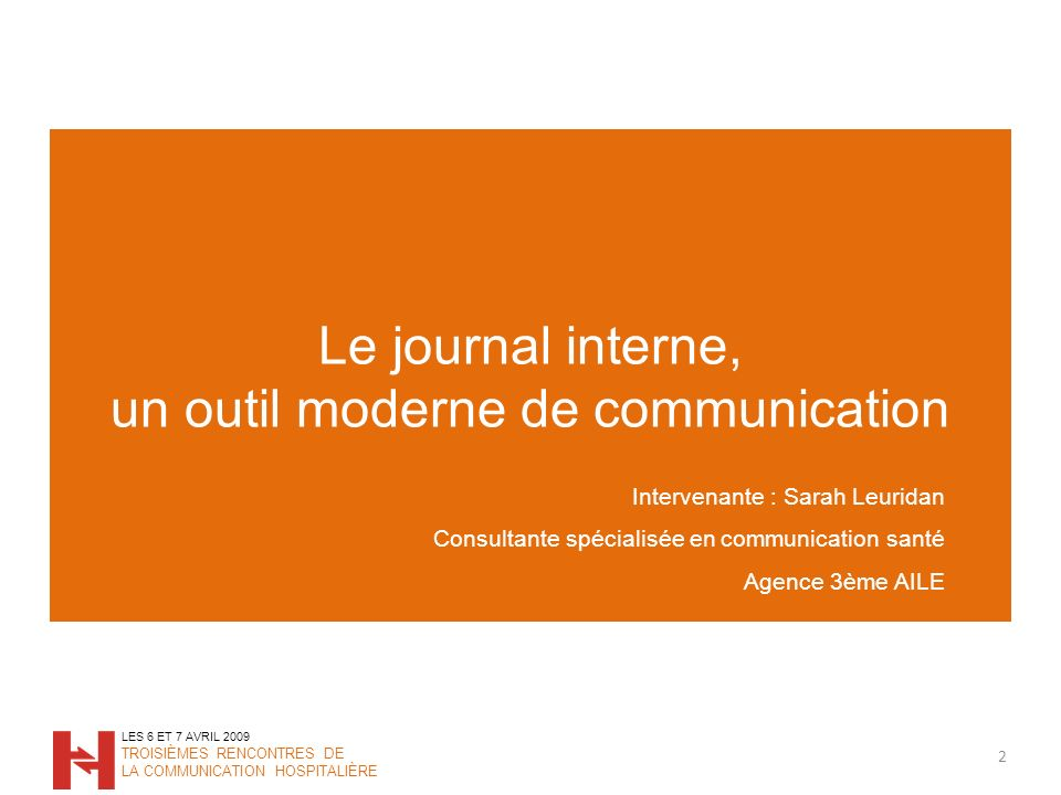 Le journal interne, un outil moderne de communication