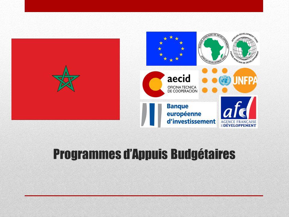 Programmes d'Appuis Budgétaires