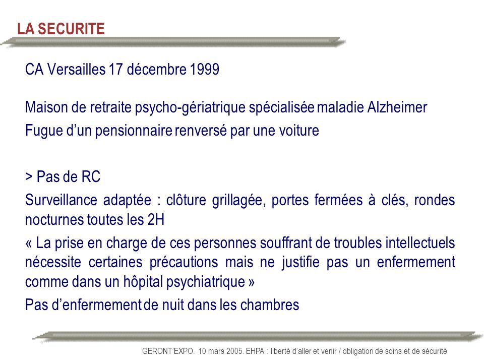 CA Versailles 17 décembre 1999