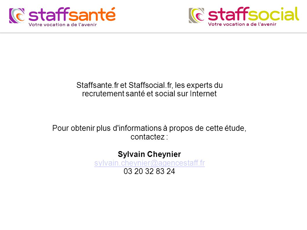 Staffsante.fr et Staffsocial.fr, les experts du