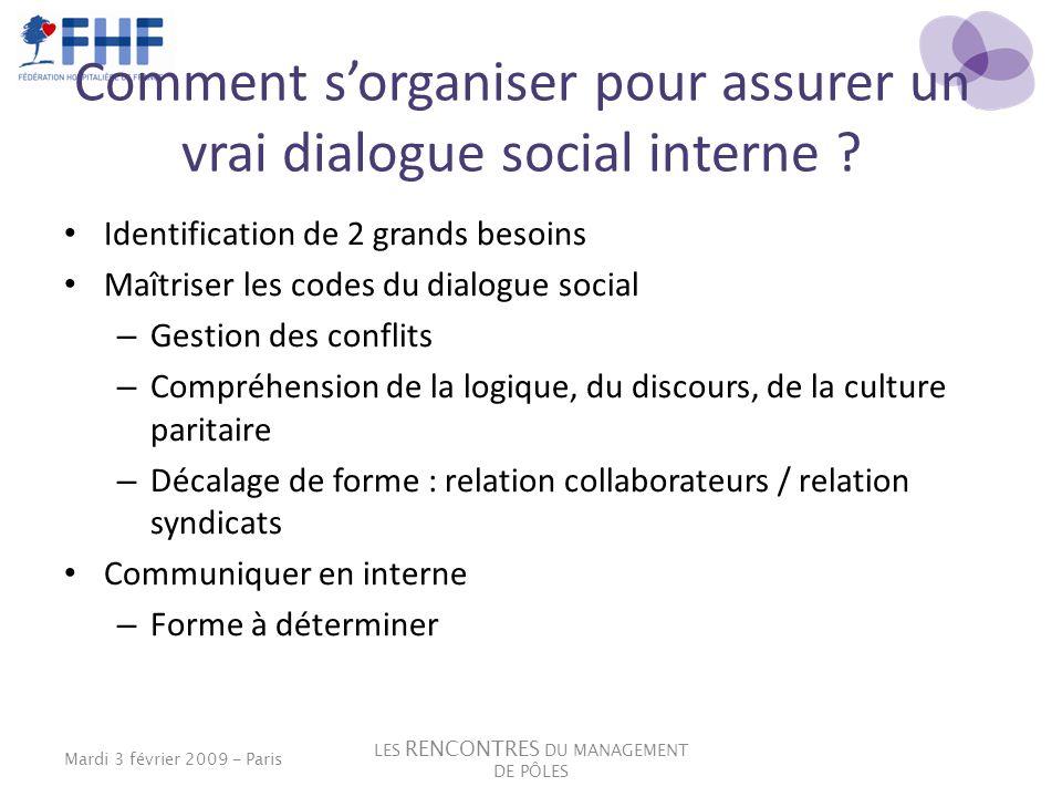 Comment s'organiser pour assurer un vrai dialogue social interne