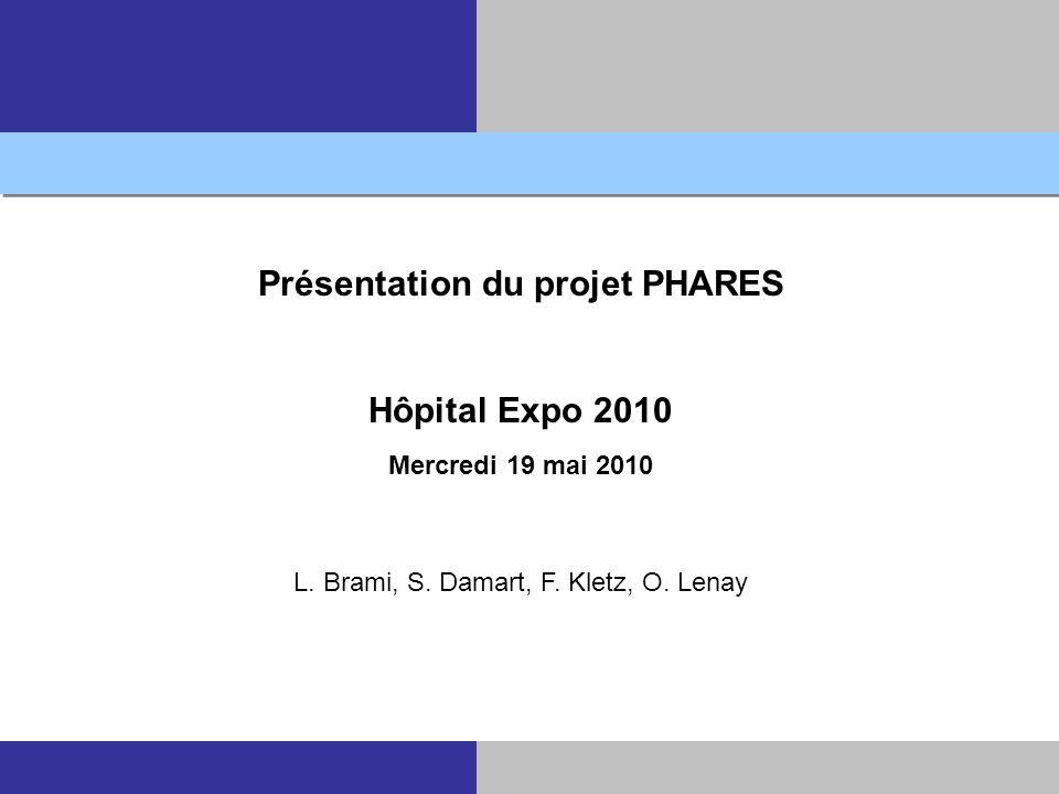 Présentation du projet PHARES