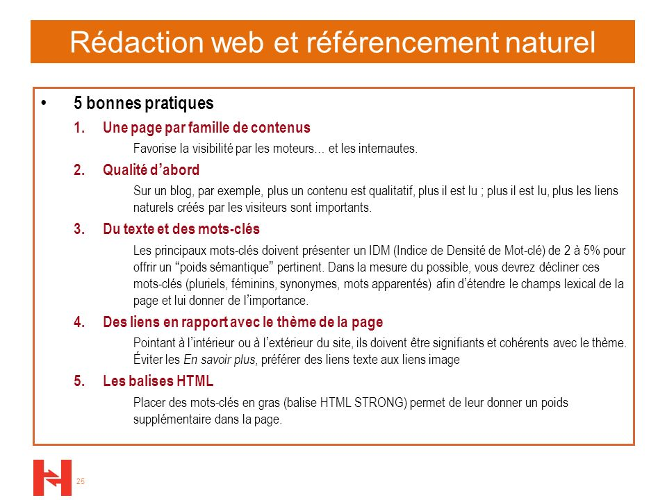 Rédaction web et référencement naturel