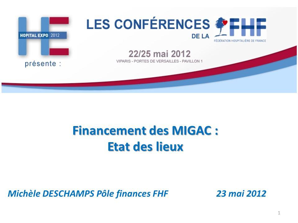 Financement des MIGAC : Etat des lieux