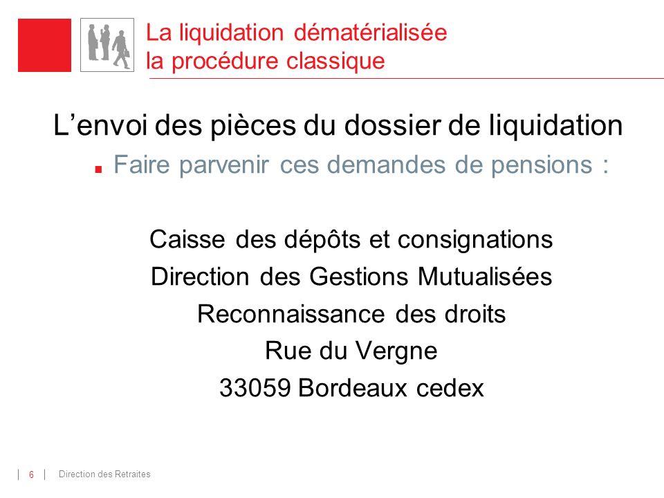 La liquidation dématérialisée la procédure classique
