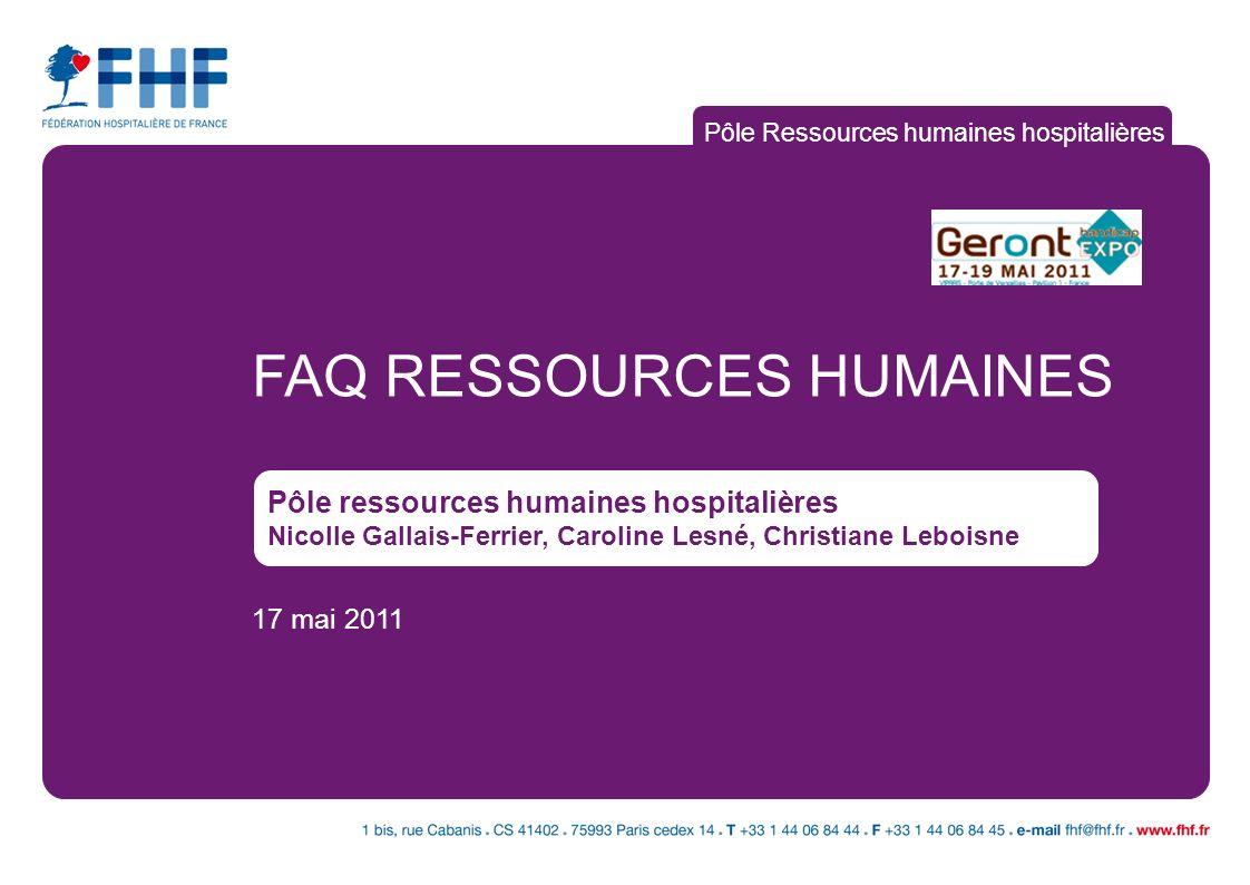 Pôle Ressources humaines hospitalières