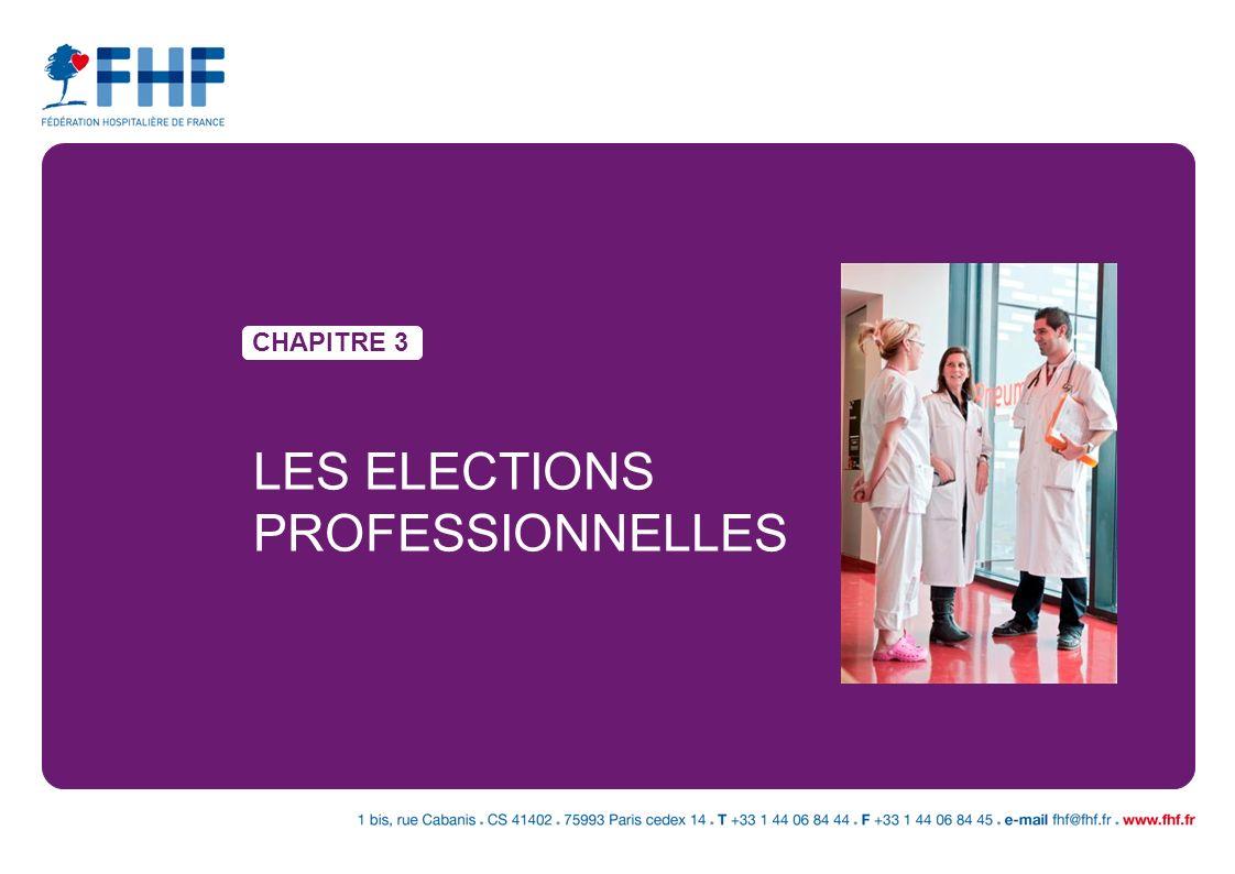 LES ELECTIONS PROFESSIONNELLES