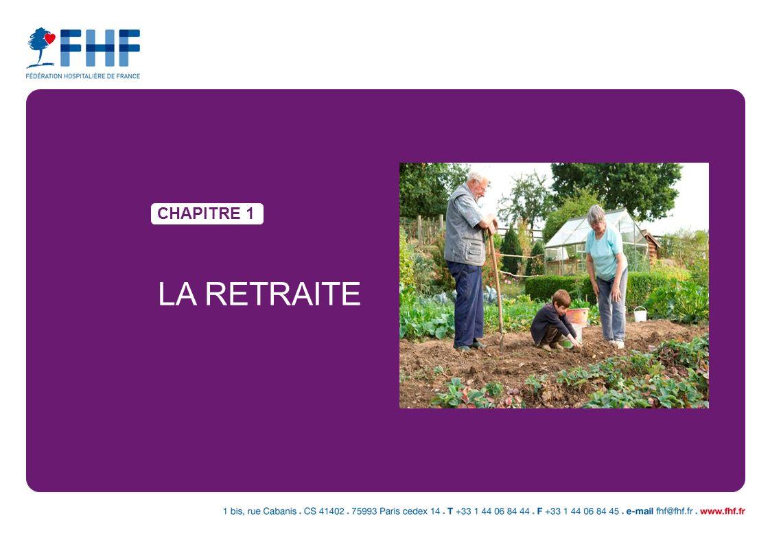 CHAPITRE 1 LA RETRAITE