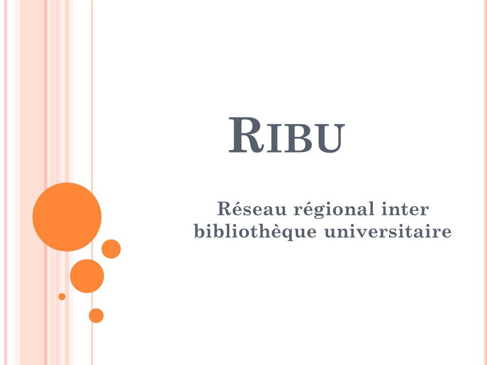 Réseau régional inter bibliothèque universitaire
