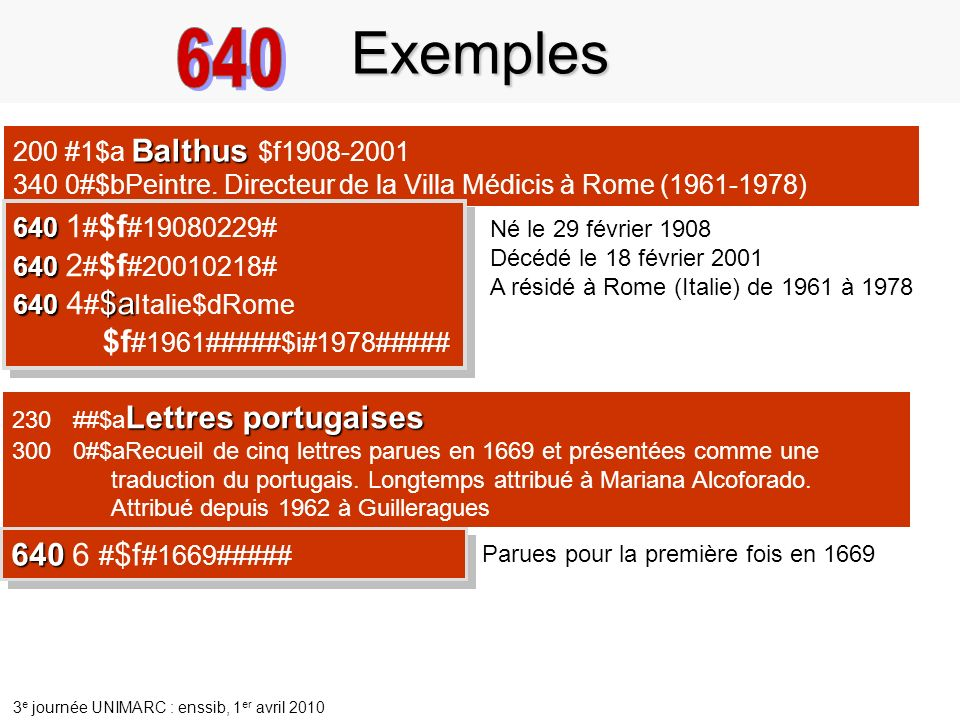 Exemples 640 640 6 #$f#1669##### 200 #1$a Balthus $f1908-2001
