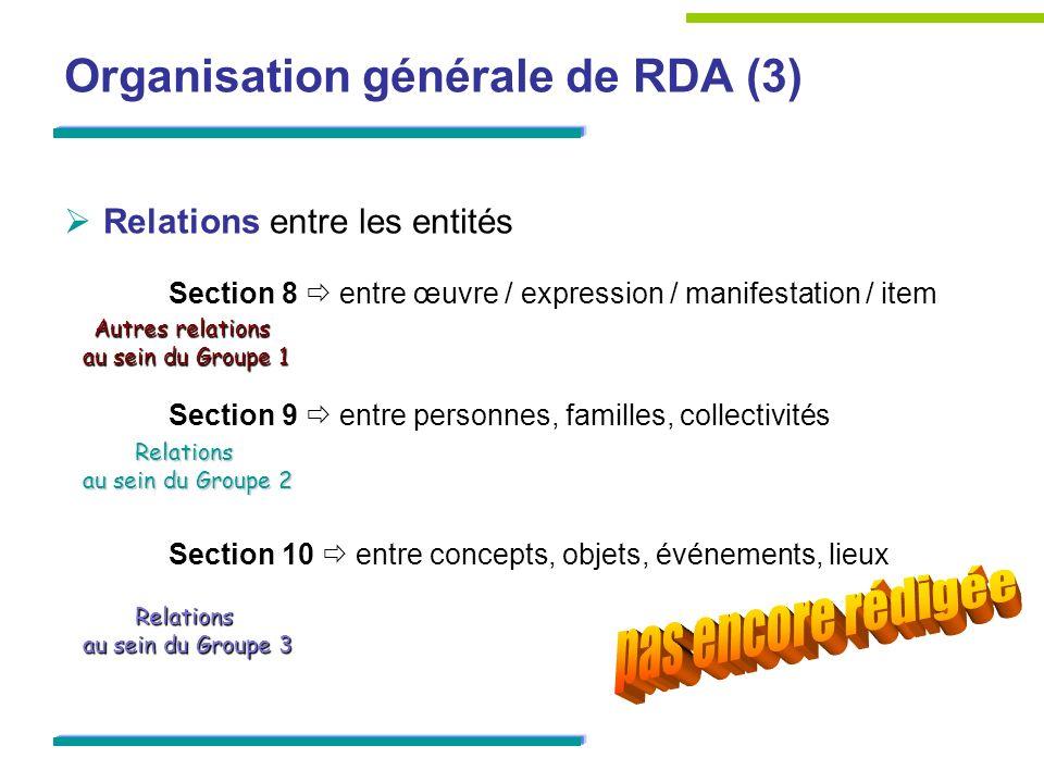 Organisation générale de RDA (3)