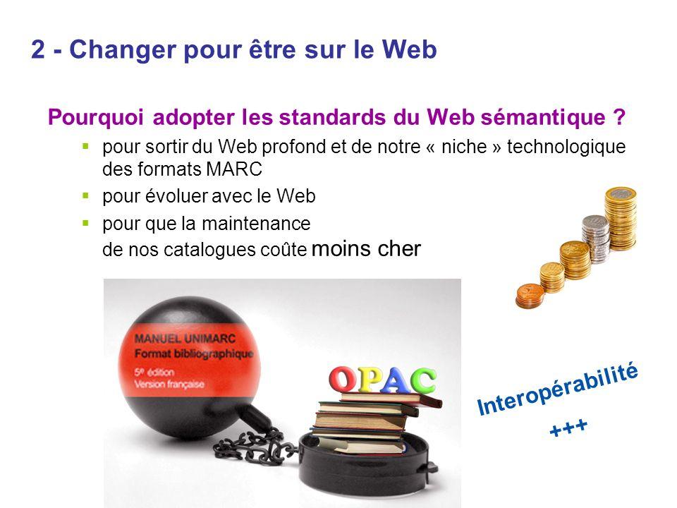 2 - Changer pour être sur le Web