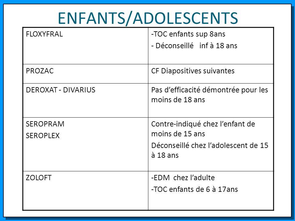 ENFANTS/ADOLESCENTS FLOXYFRAL -TOC enfants sup 8ans