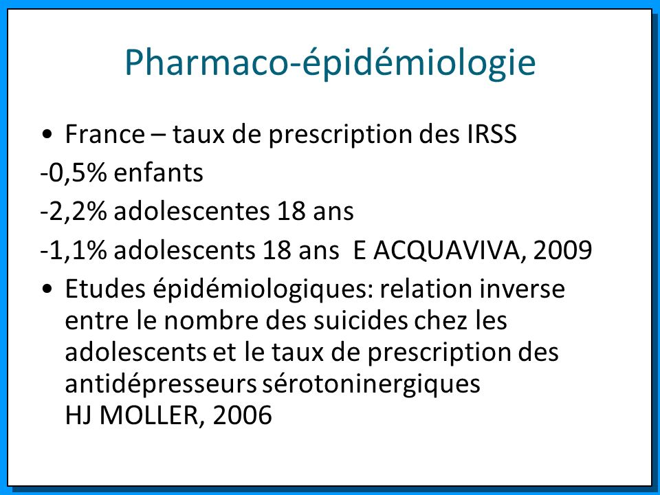 Pharmaco-épidémiologie