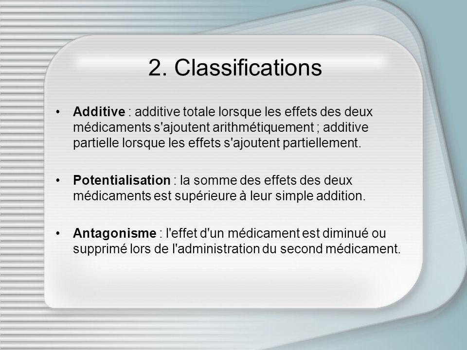 2. Classifications