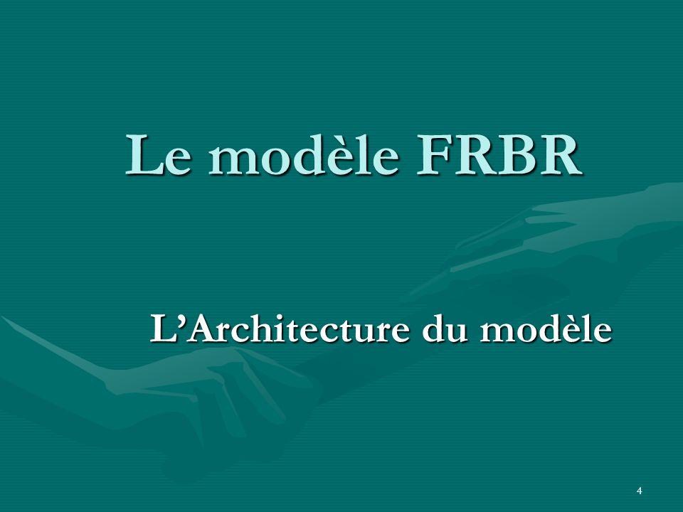 L'Architecture du modèle