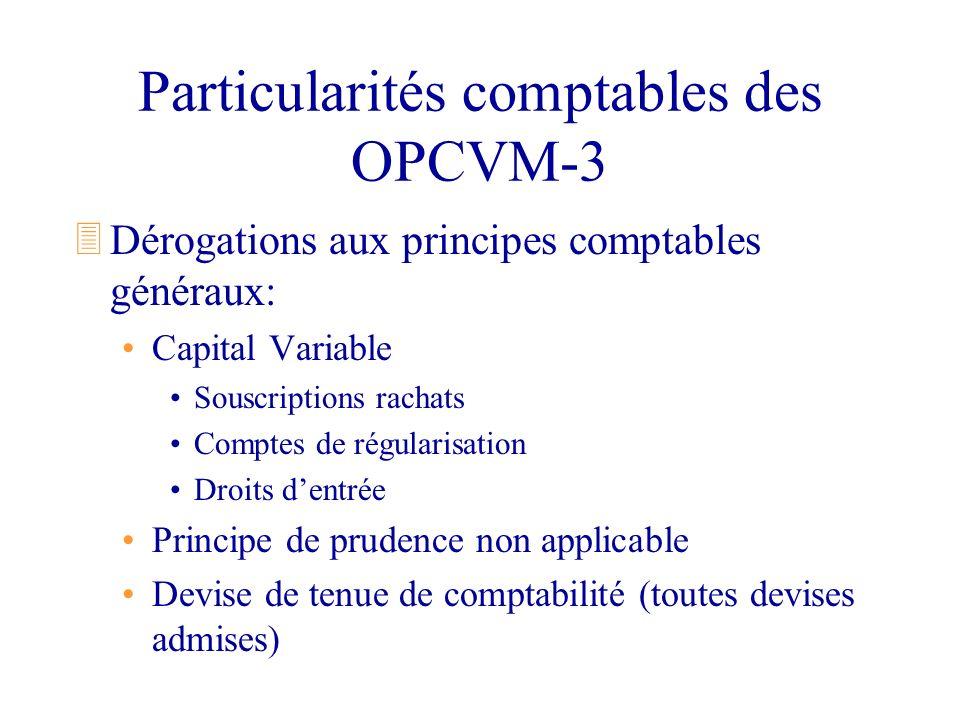Particularités comptables des OPCVM-3