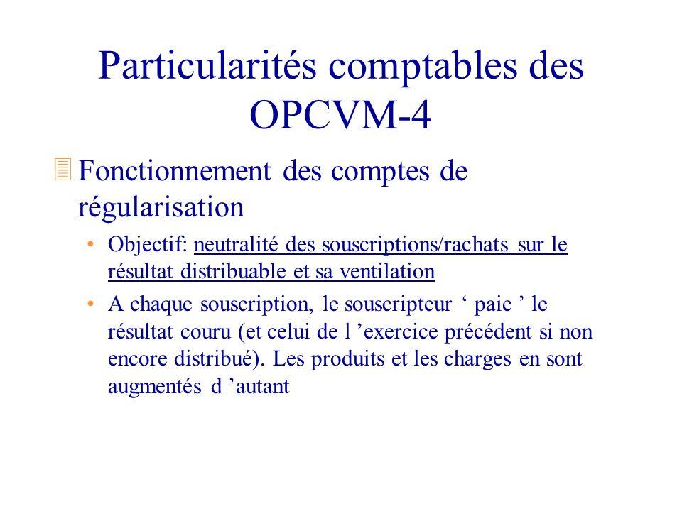 Particularités comptables des OPCVM-4
