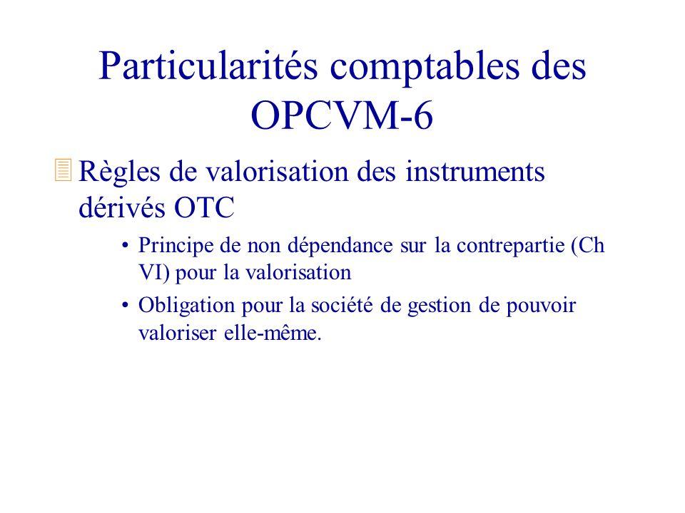 Particularités comptables des OPCVM-6