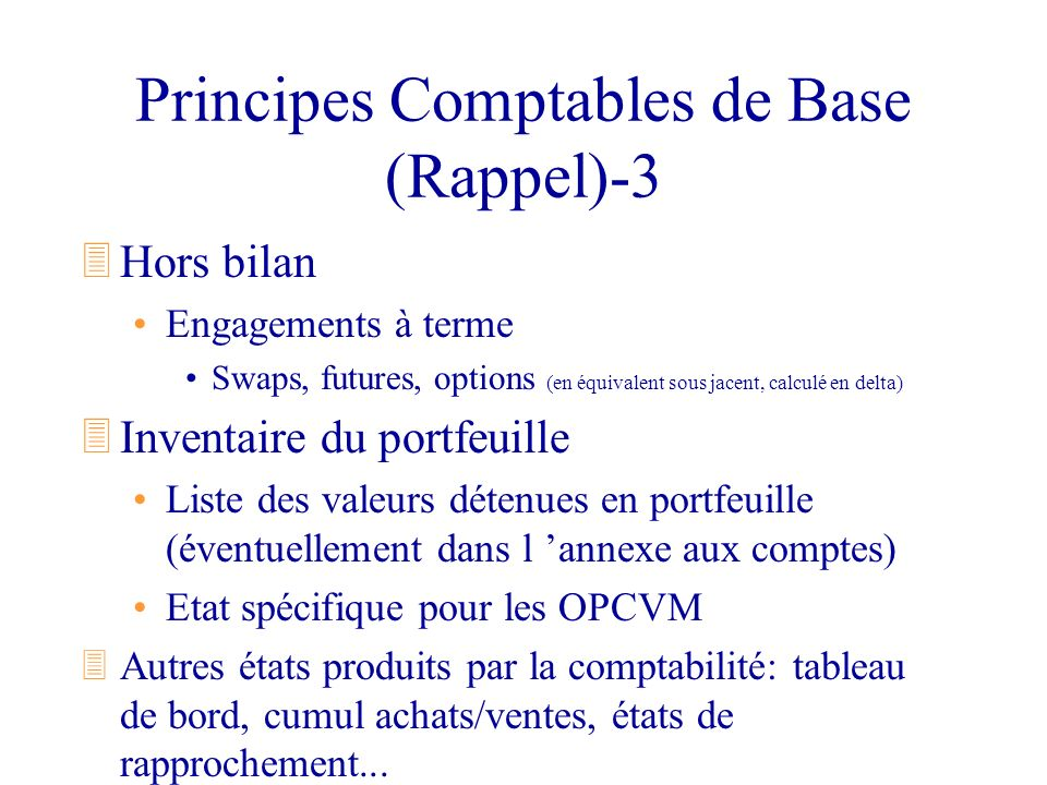 Principes Comptables de Base (Rappel)-3