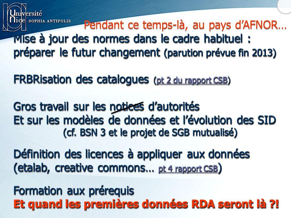 (cf. BSN 3 et le projet de SGB mutualisé)