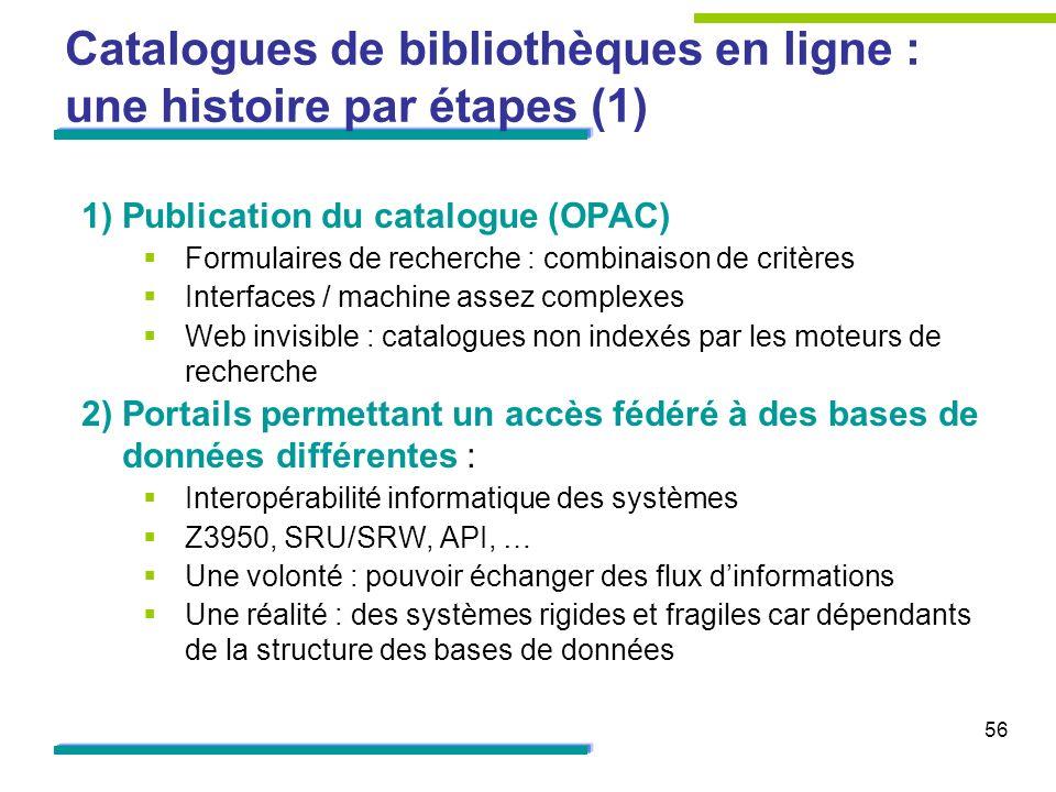 Catalogues de bibliothèques en ligne : une histoire par étapes (1)