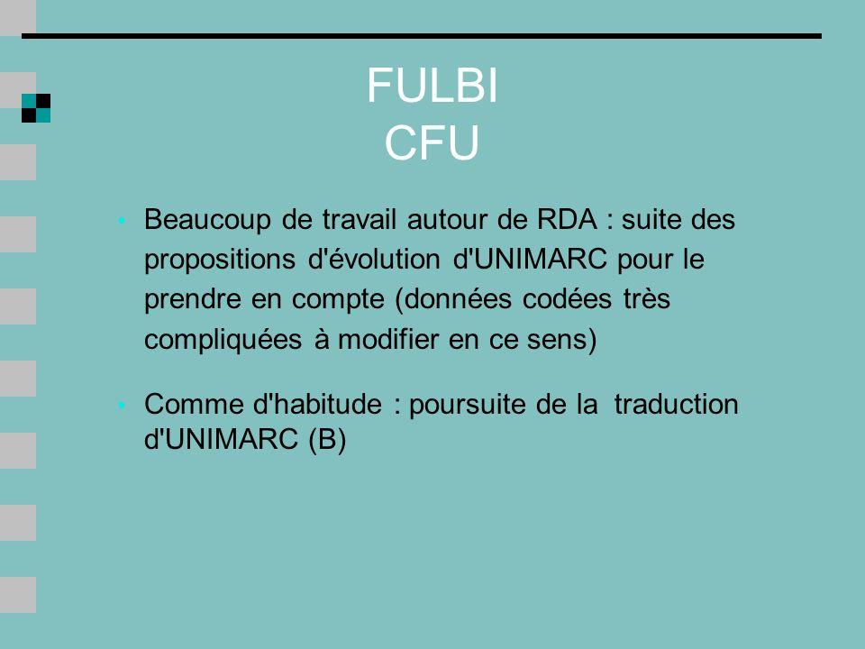 FULBI CFU