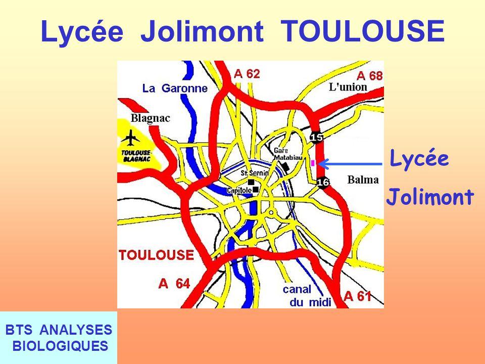Lycée Jolimont TOULOUSE