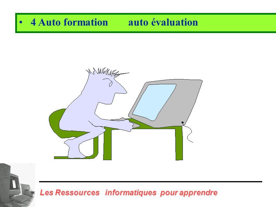 4 Auto formation auto évaluation