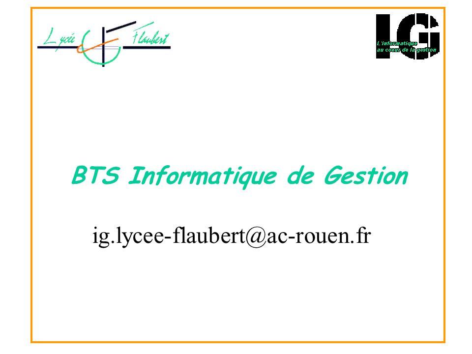 BTS Informatique de Gestion