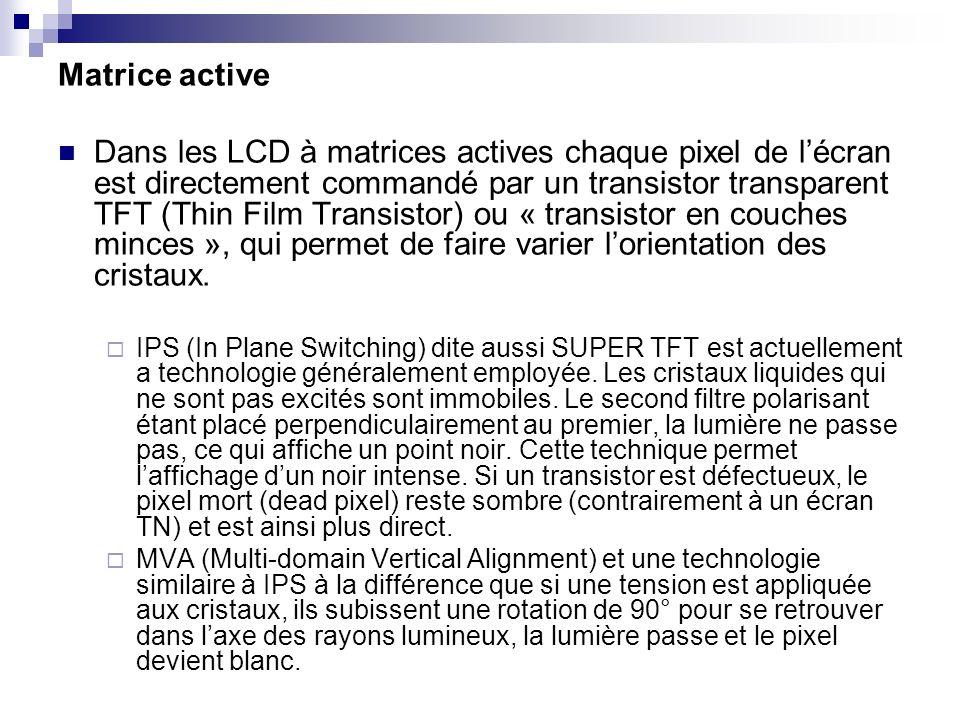 Matrice active