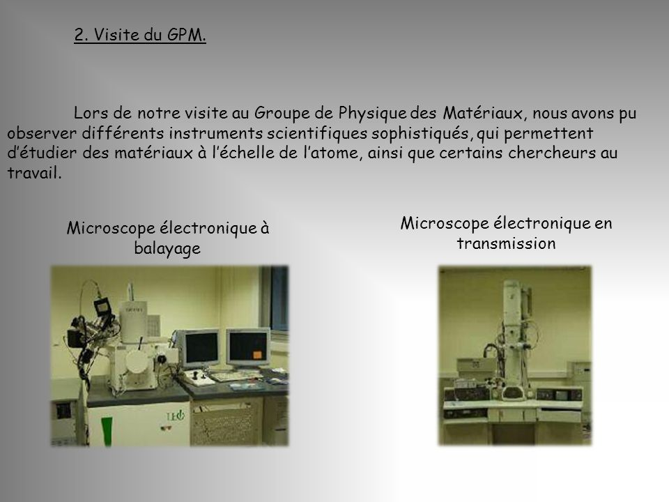 Microscope électronique en transmission