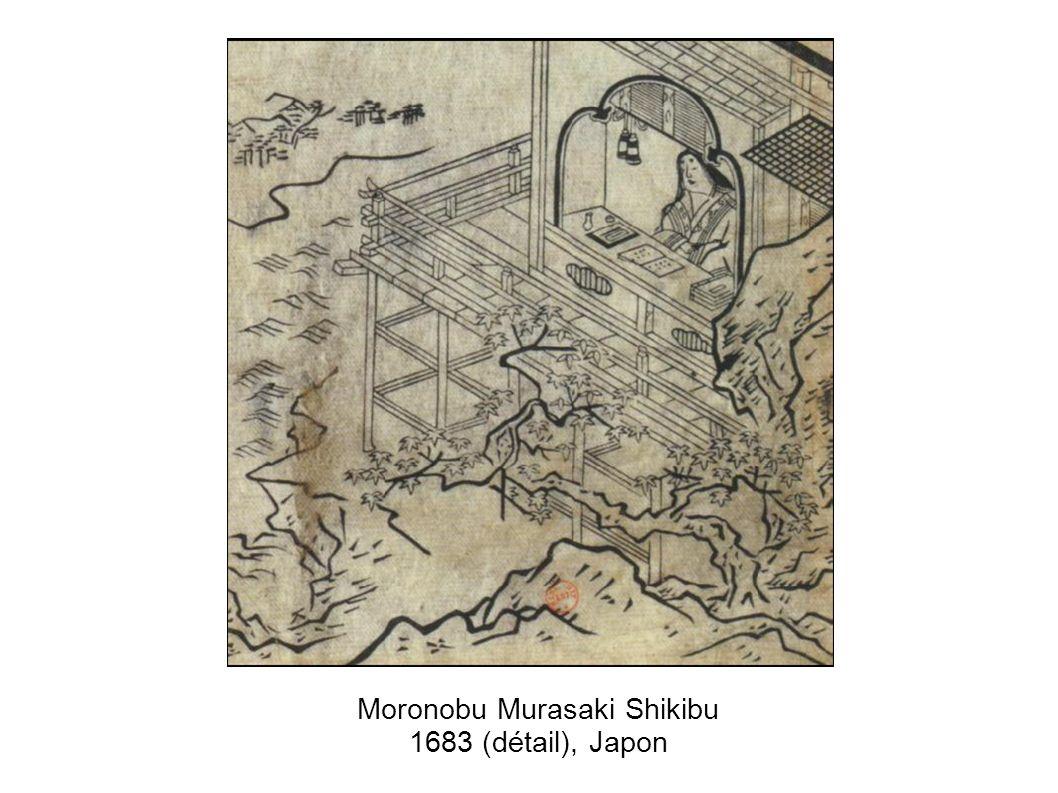 Moronobu Murasaki Shikibu