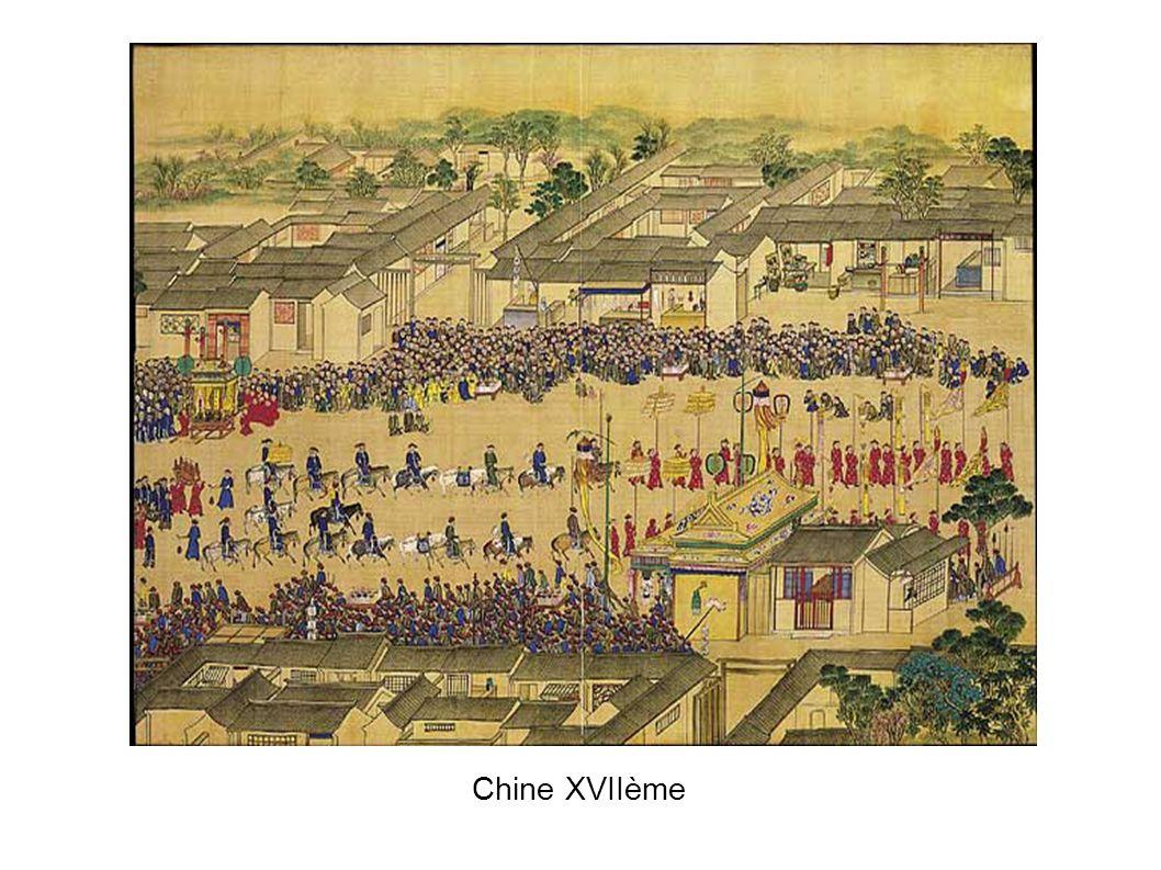 Chine XVIIème