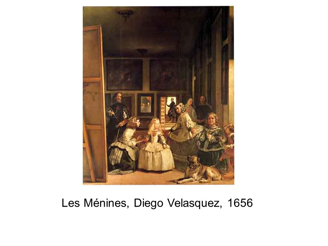 Les Ménines, Diego Velasquez, 1656