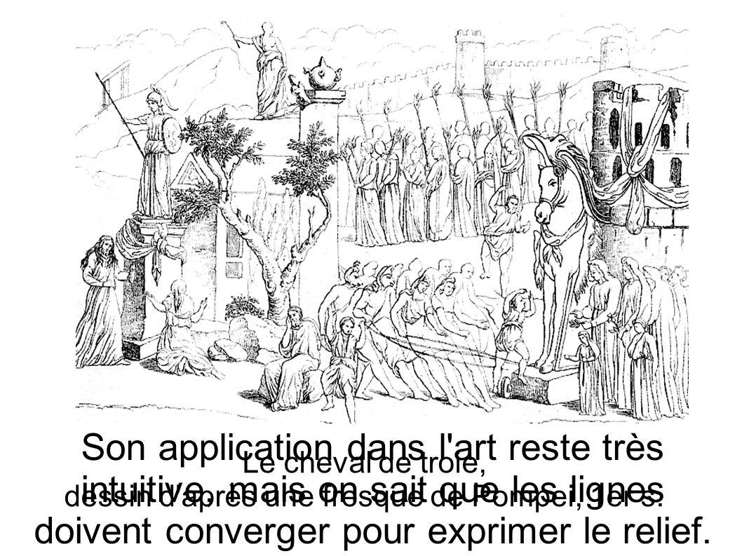 dessin d après une fresque de Pompei, 1er s.
