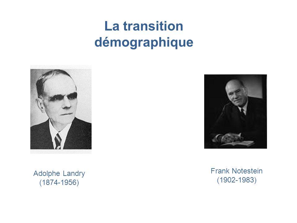 La transition démographique