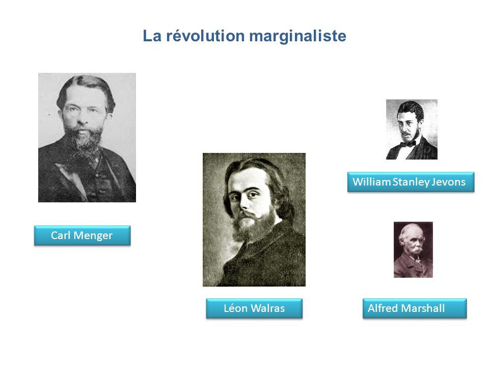 La révolution marginaliste