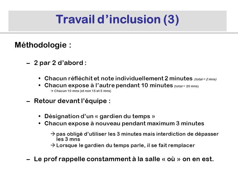 Travail d'inclusion (3)