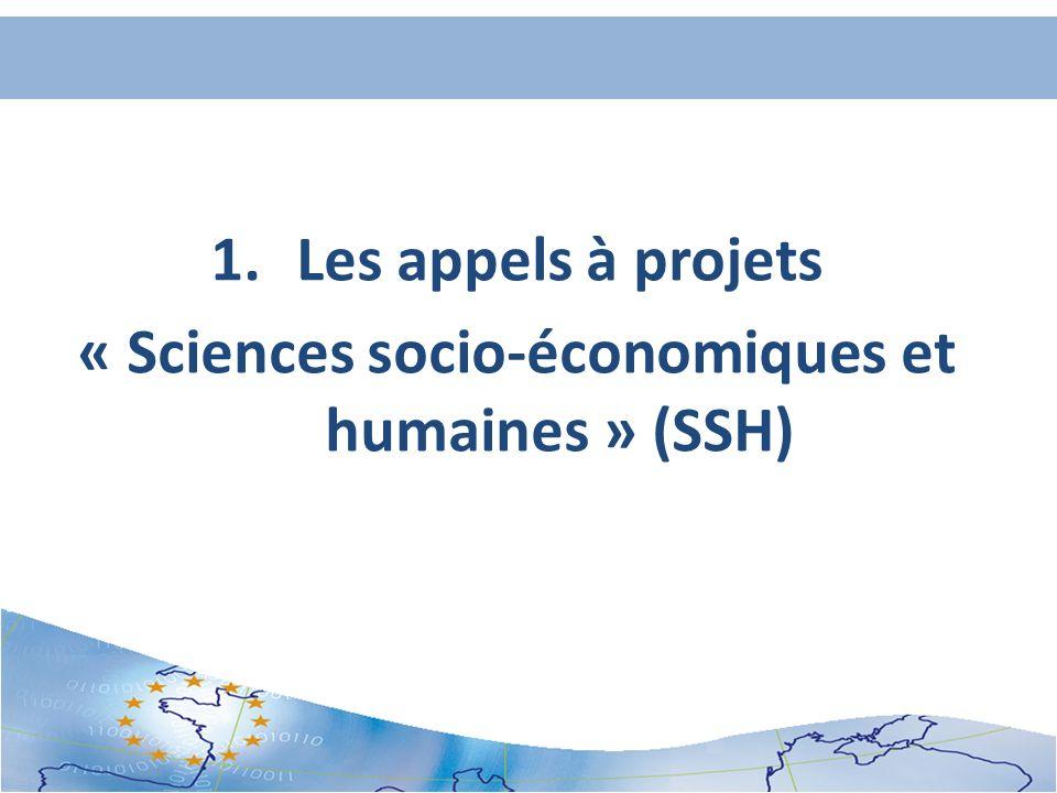 « Sciences socio-économiques et humaines » (SSH)