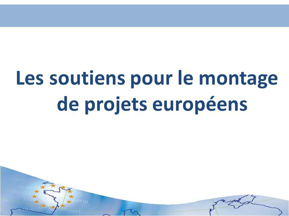 Les soutiens pour le montage de projets européens